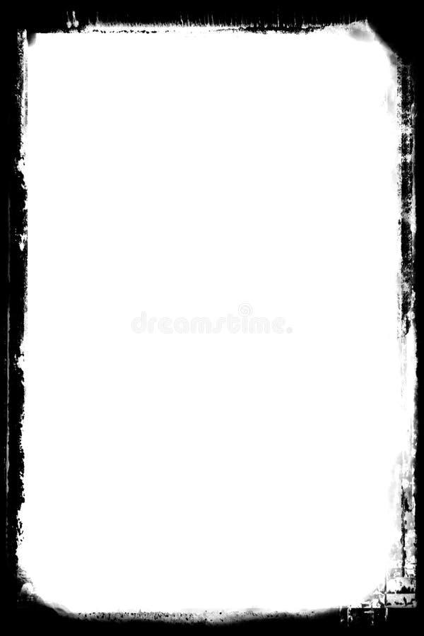 Chłodno Czarne Abstrakcjonistyczne Fotograficzne krawędzie Dla portret fotografii zdjęcia royalty free