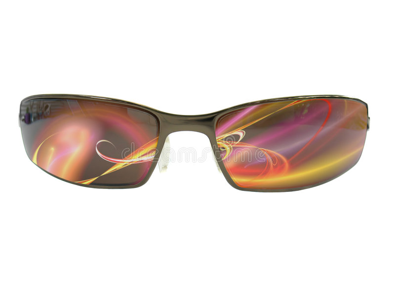 chłodno okulary przeciwsłoneczne royalty ilustracja