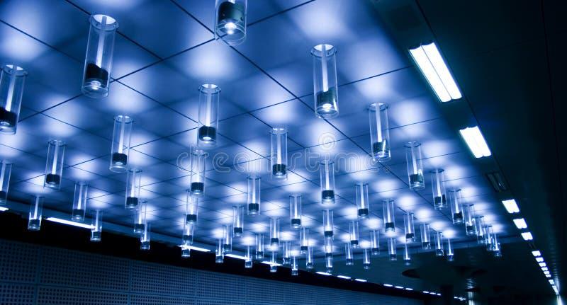chłodno wewnętrzny oświetlenie obrazy royalty free