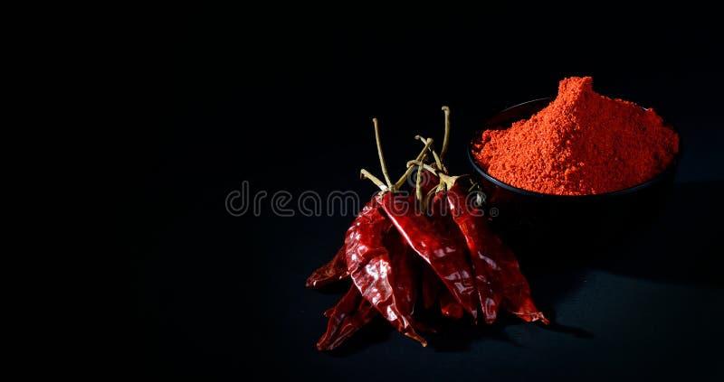 Chłodny proszek z czerwony chłodnym w bielu talerzu zdjęcia royalty free