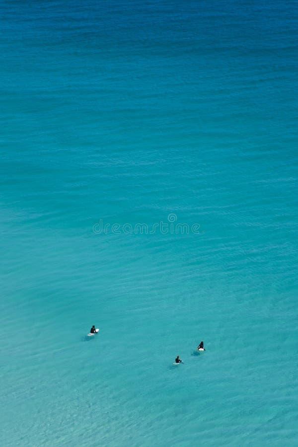 Chłodzić surfingowów, Kapsztad zdjęcia royalty free