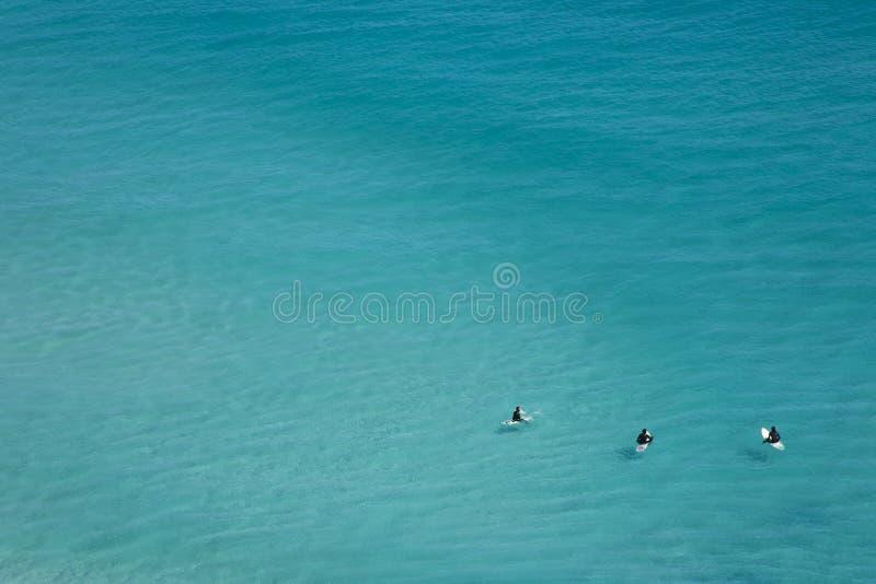 Chłodzić surfingowów, Kapsztad obrazy royalty free