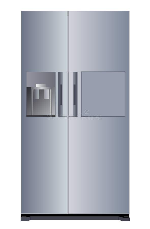 Chłodziarki urządzenie elektroniczne ilustracja wektor