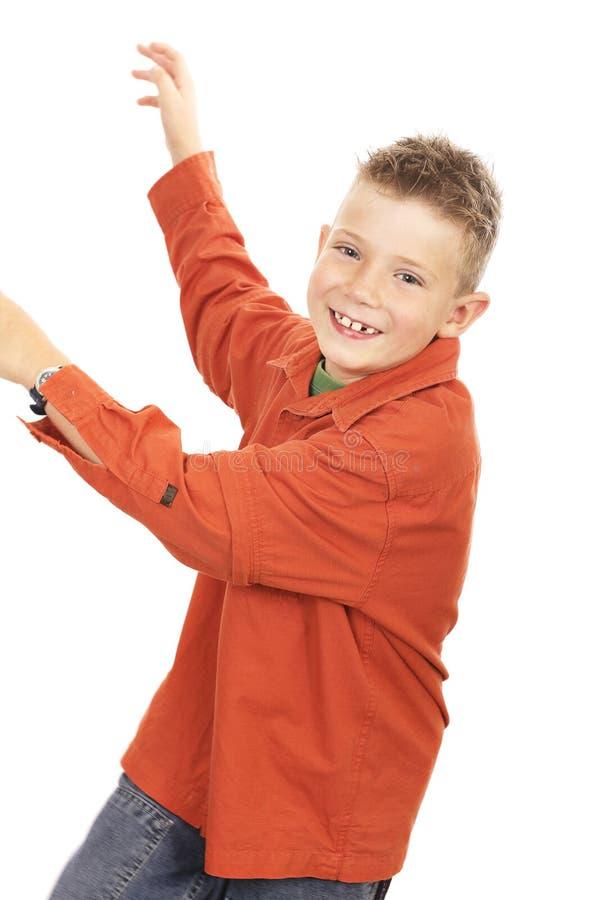 chłopak gra zdjęcie stock