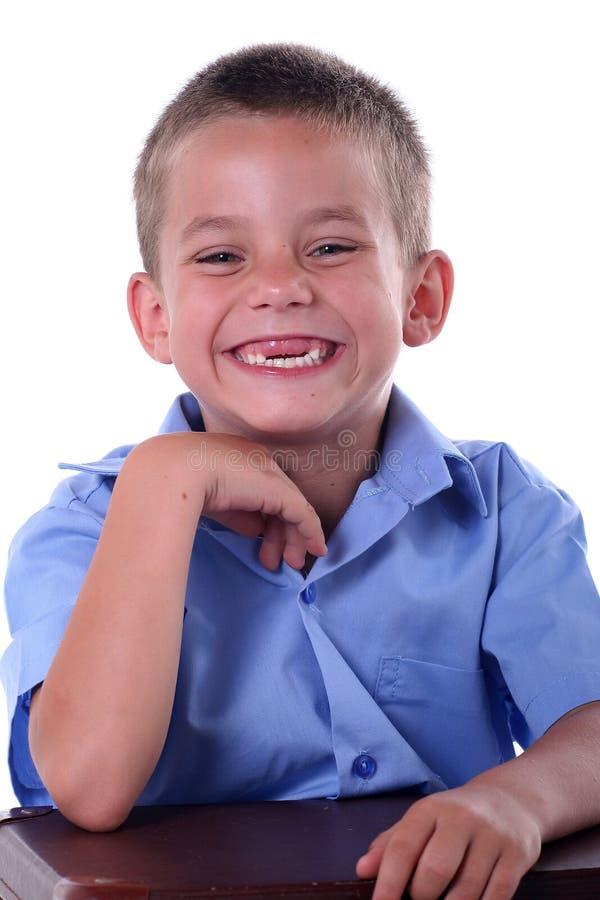 chłopak szkoły podstawowej obraz stock