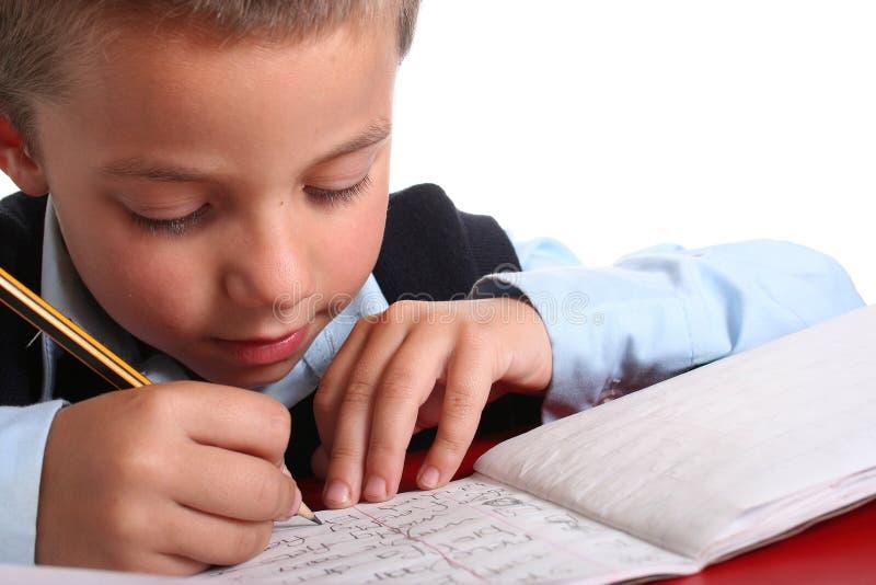 chłopak szkoły podstawowej zdjęcie stock