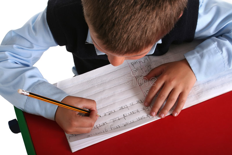 chłopak szkoły podstawowej obraz royalty free