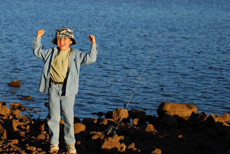 chłopcy 20 połowowej zdjęcie royalty free