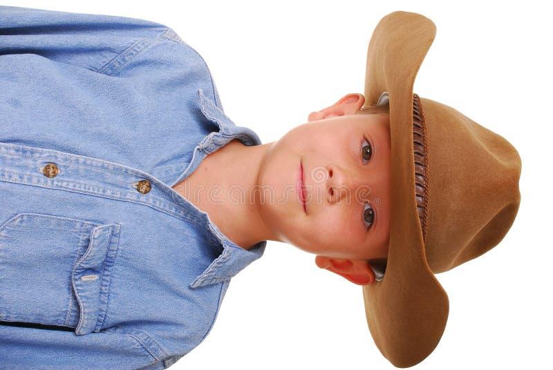 chłopcy 7 kowboja obrazy stock