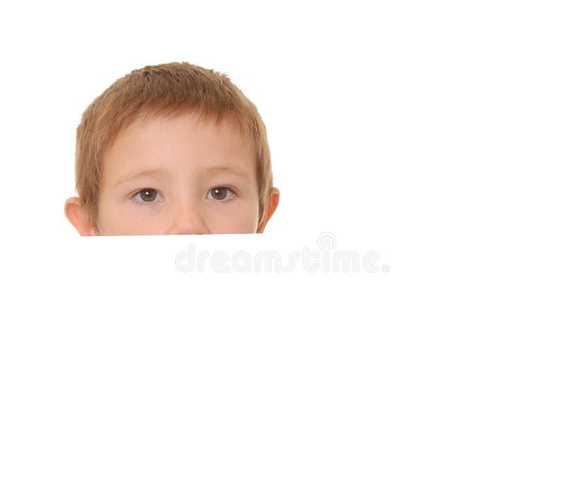 chłopcy 7 znak fotografia stock