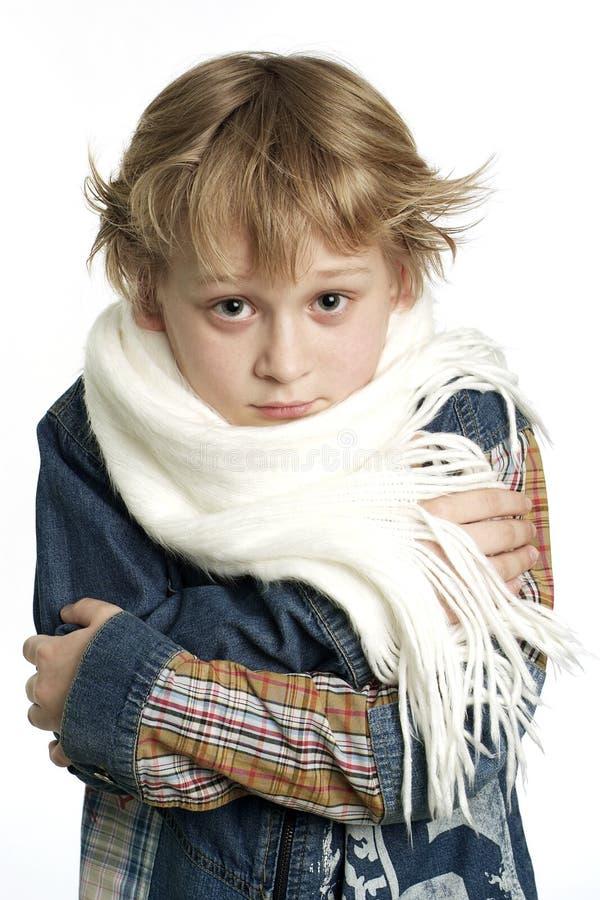 chłopcy choroby zdjęcia stock