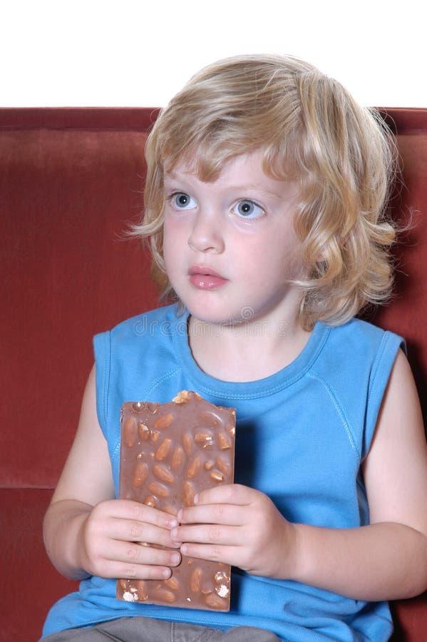 chłopcy czekolady obrazy stock