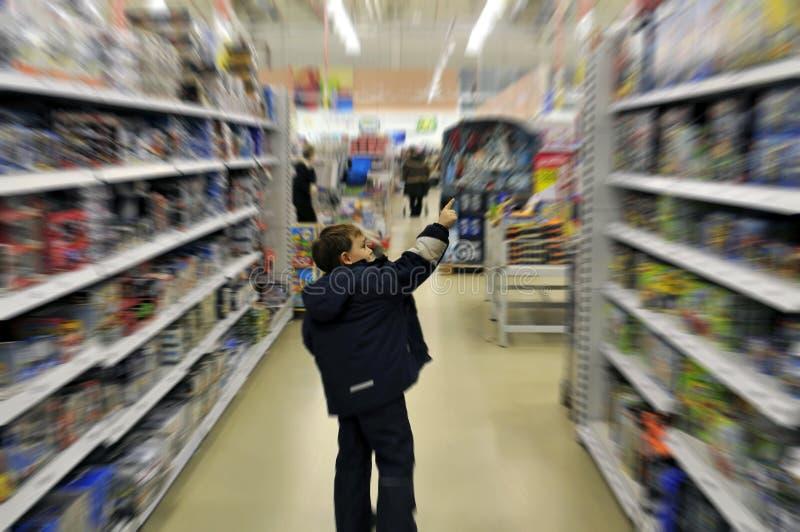 chłopcy do sklepu zdjęcie stock