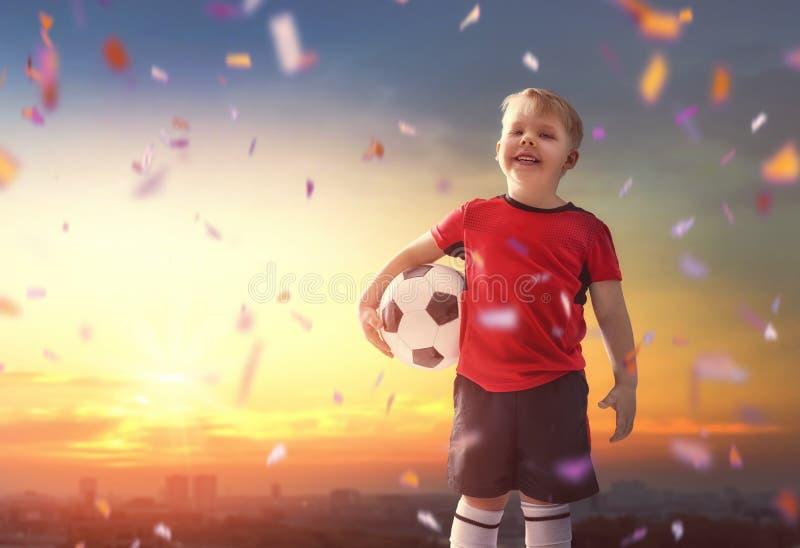 chłopcy football grać obrazy stock