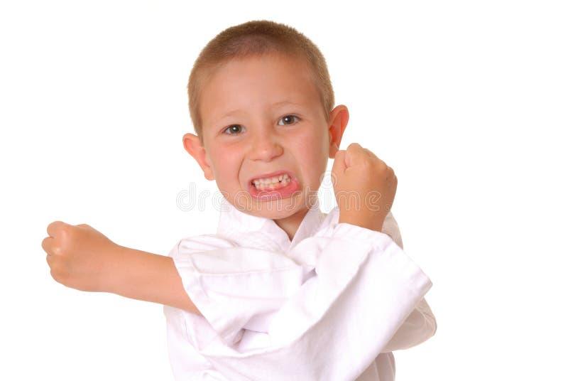 chłopcy karate. obrazy royalty free