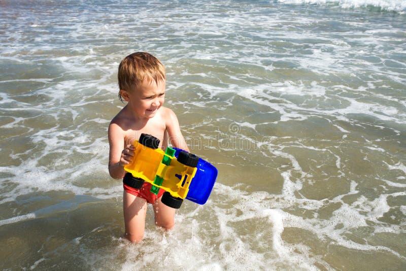 chłopcy morza obraz royalty free