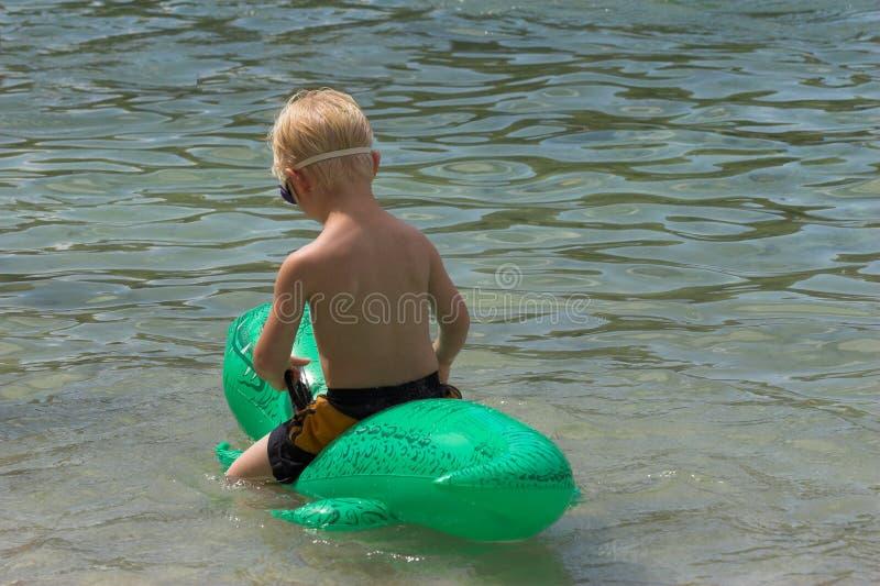 chłopcy pływaka zdjęcia stock