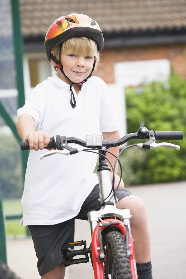 chłopcy rowerów young zdjęcia stock
