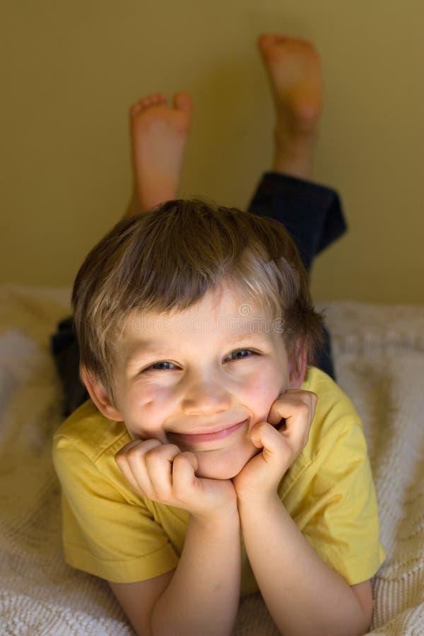 chłopcy szczęśliwa fotografia stock