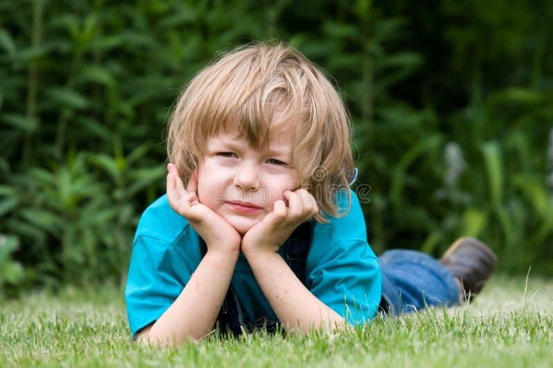 Piękną Blond Chłopcy śmieszne Okulary Przeciwsłoneczne Obraz