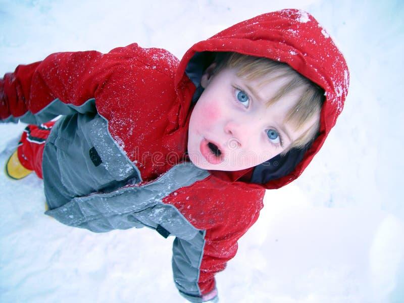 chłopcy zimno fotografia royalty free