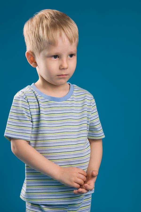 chłopcze problemy fotografia stock
