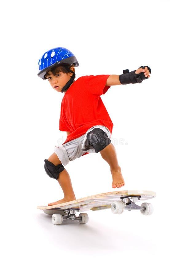 chłopiec łyżwa obrazy stock