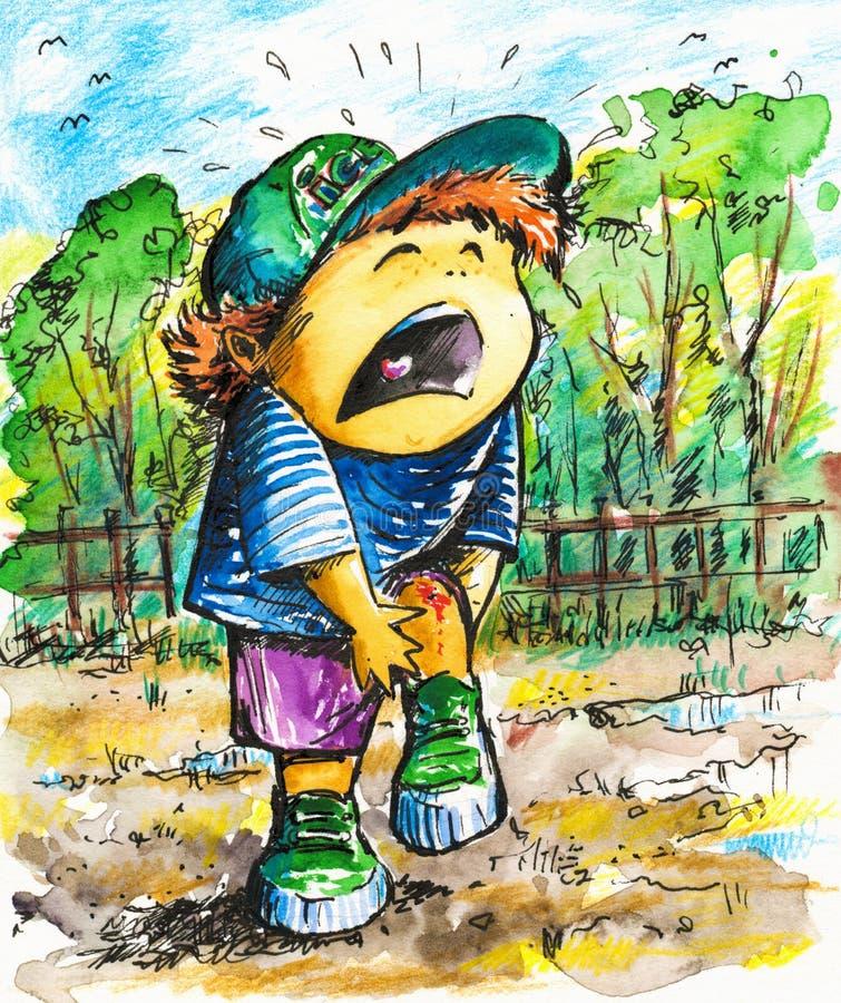 chłopiec ilustracji