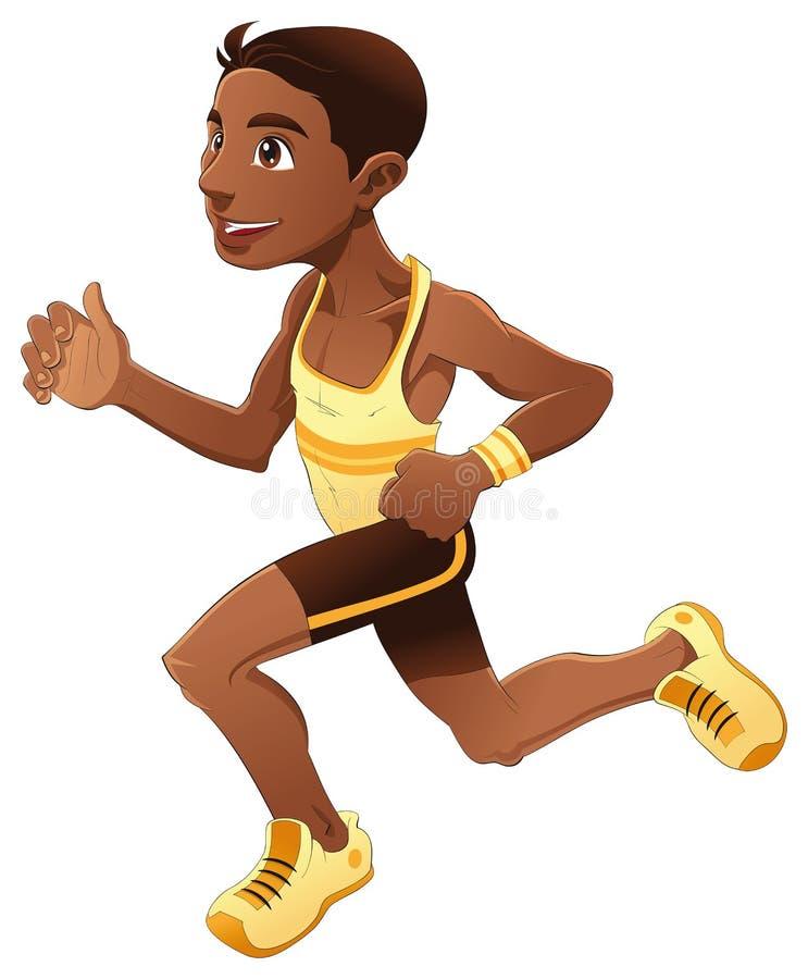 chłopiec bieg