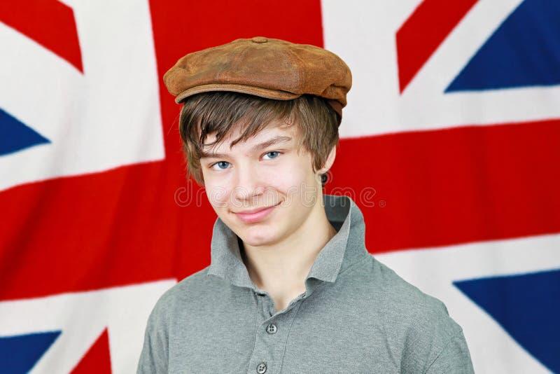 chłopiec British fotografia stock