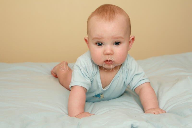 chłopiec cukierki zdjęcie royalty free