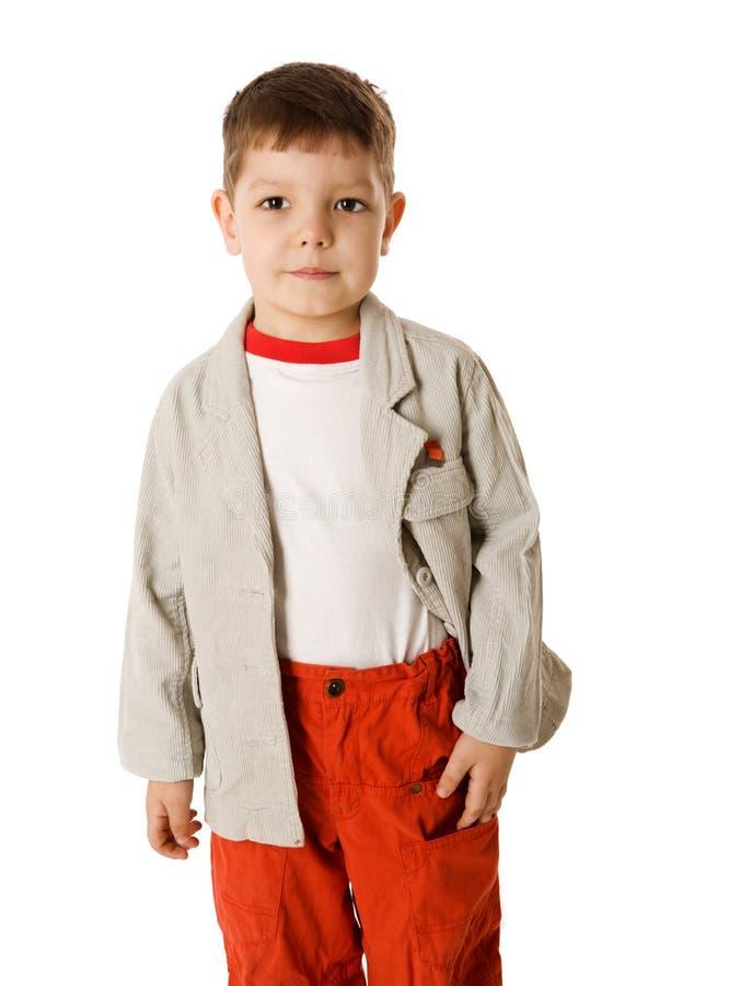 chłopiec cztery rok fotografia stock