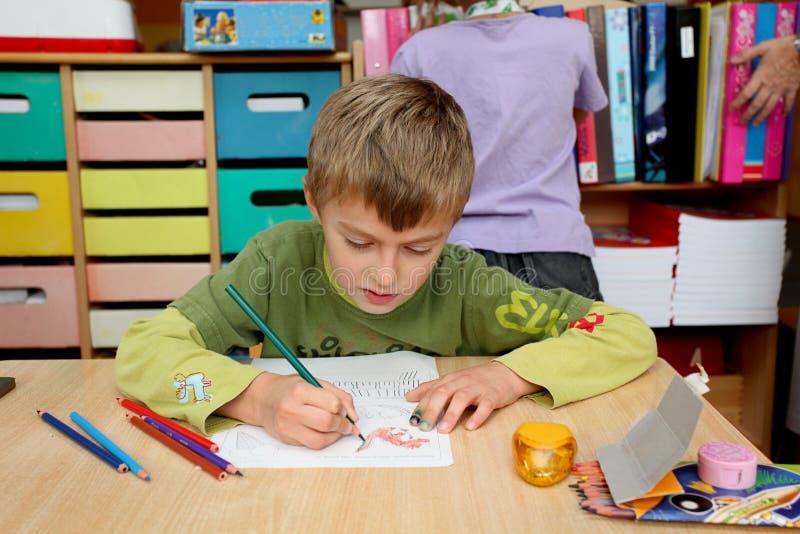 chłopiec dzieciniec fotografia royalty free