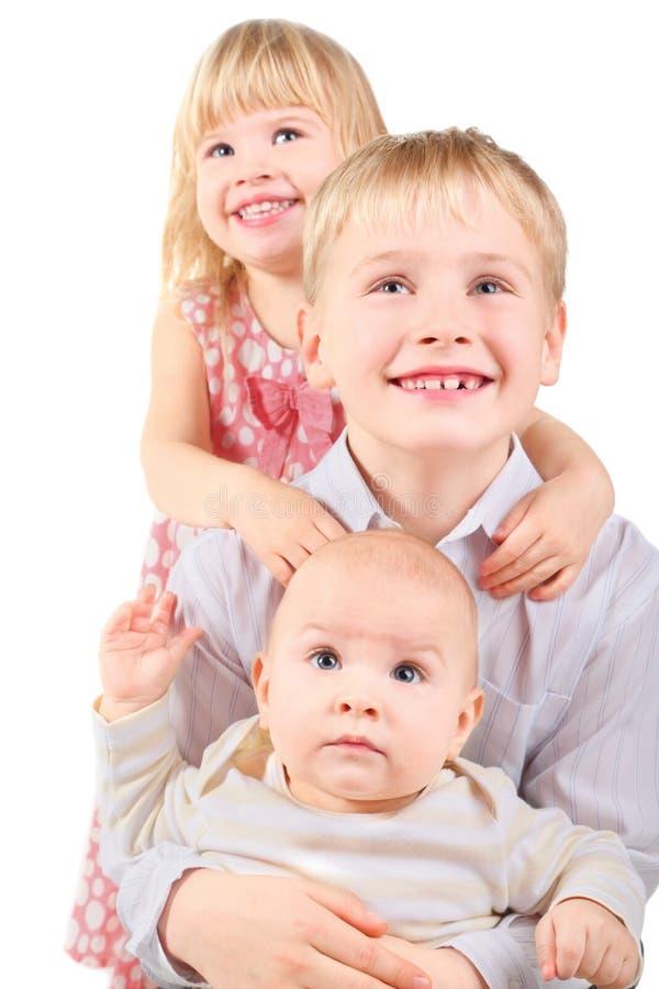 chłopiec dziewczyny mały ja target1296_0_ fotografia royalty free