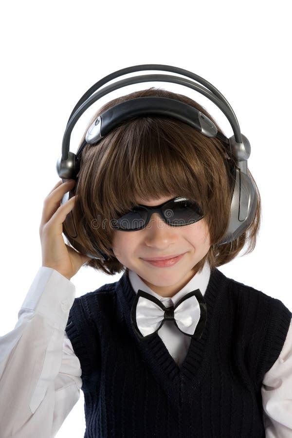 chłopiec hełmofony obrazy royalty free