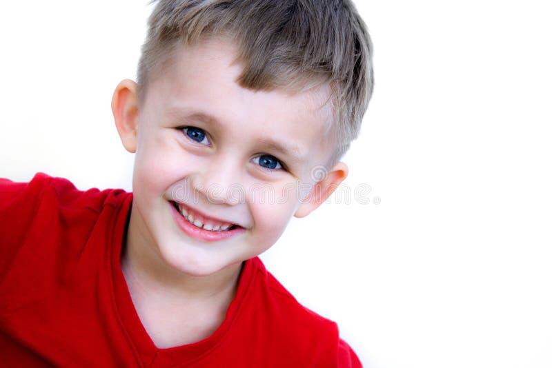 chłopiec ja target1258_0_ obraz royalty free