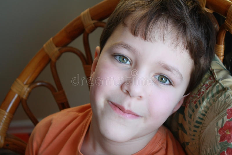 chłopiec ja target1703_0_ zdjęcia royalty free