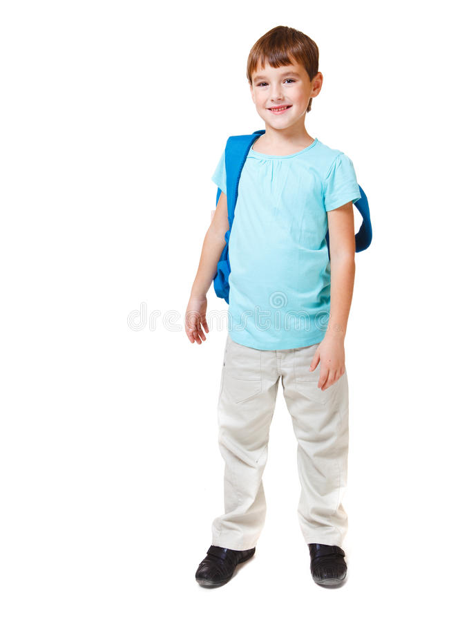 chłopiec ja target318_0_ mały obraz stock