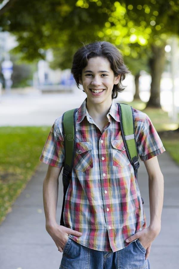 chłopiec ja target333_0_ nastoletni obrazy royalty free
