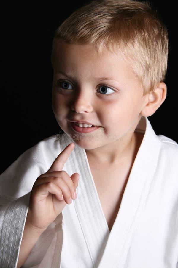chłopiec karate zdjęcie stock