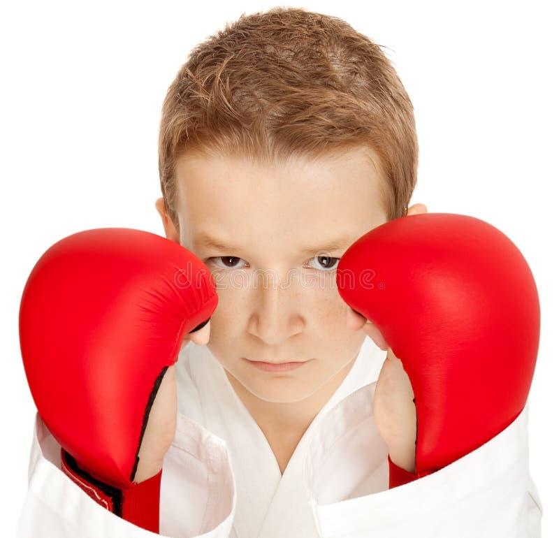 chłopiec karate zdjęcie royalty free