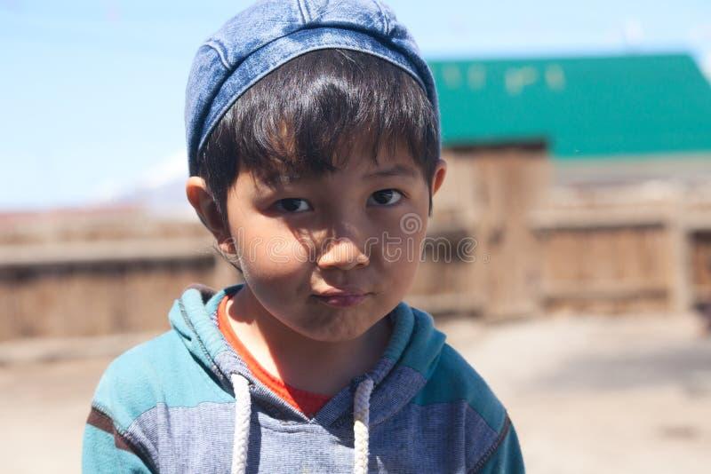 chłopiec kazak fotografia stock