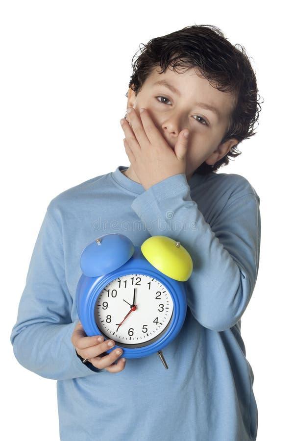 Download Chłopiec kilwater śpiący zdjęcie stock. Obraz złożonej z półsenny - 13333500