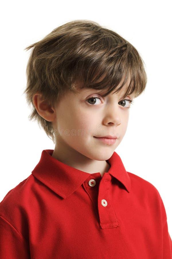 chłopiec mądrze obraz royalty free