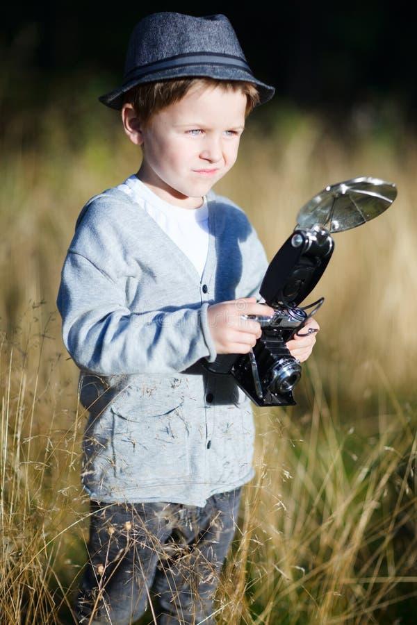 chłopiec modna fotografia royalty free