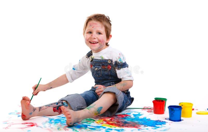 chłopiec obraz obraz stock