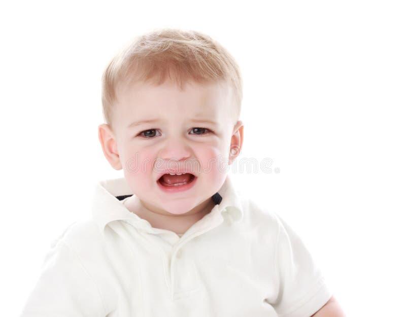 Download Chłopiec płacz obraz stock. Obraz złożonej z dziecko - 13343171