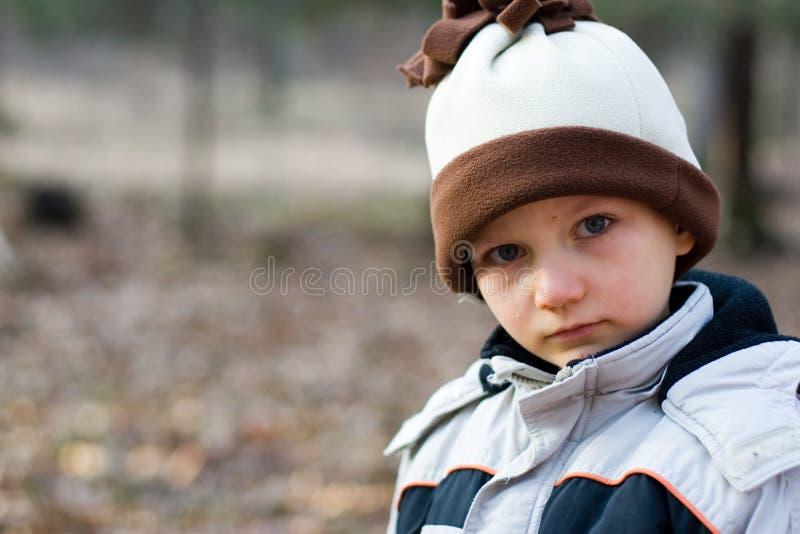chłopiec płacze obrazy stock