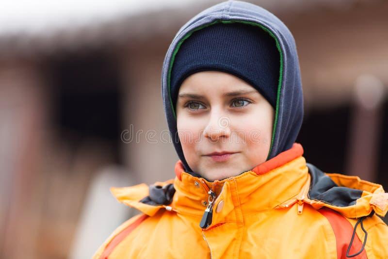 chłopiec plenerowa obrazy royalty free