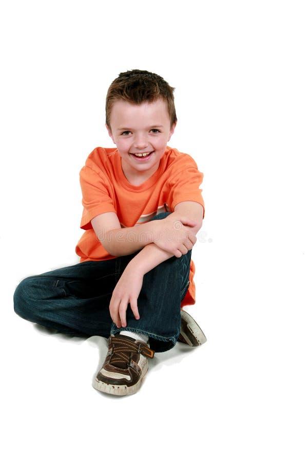 chłopiec podłoga ja target2923_0_ fotografia royalty free